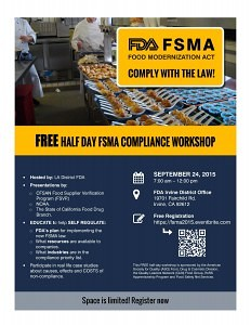 FSMA Compliance Workshop
