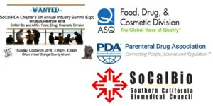 Joint Networking Event with PDA, ASQ and SoCalBio