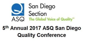 2017 San Diego Quality Conference
