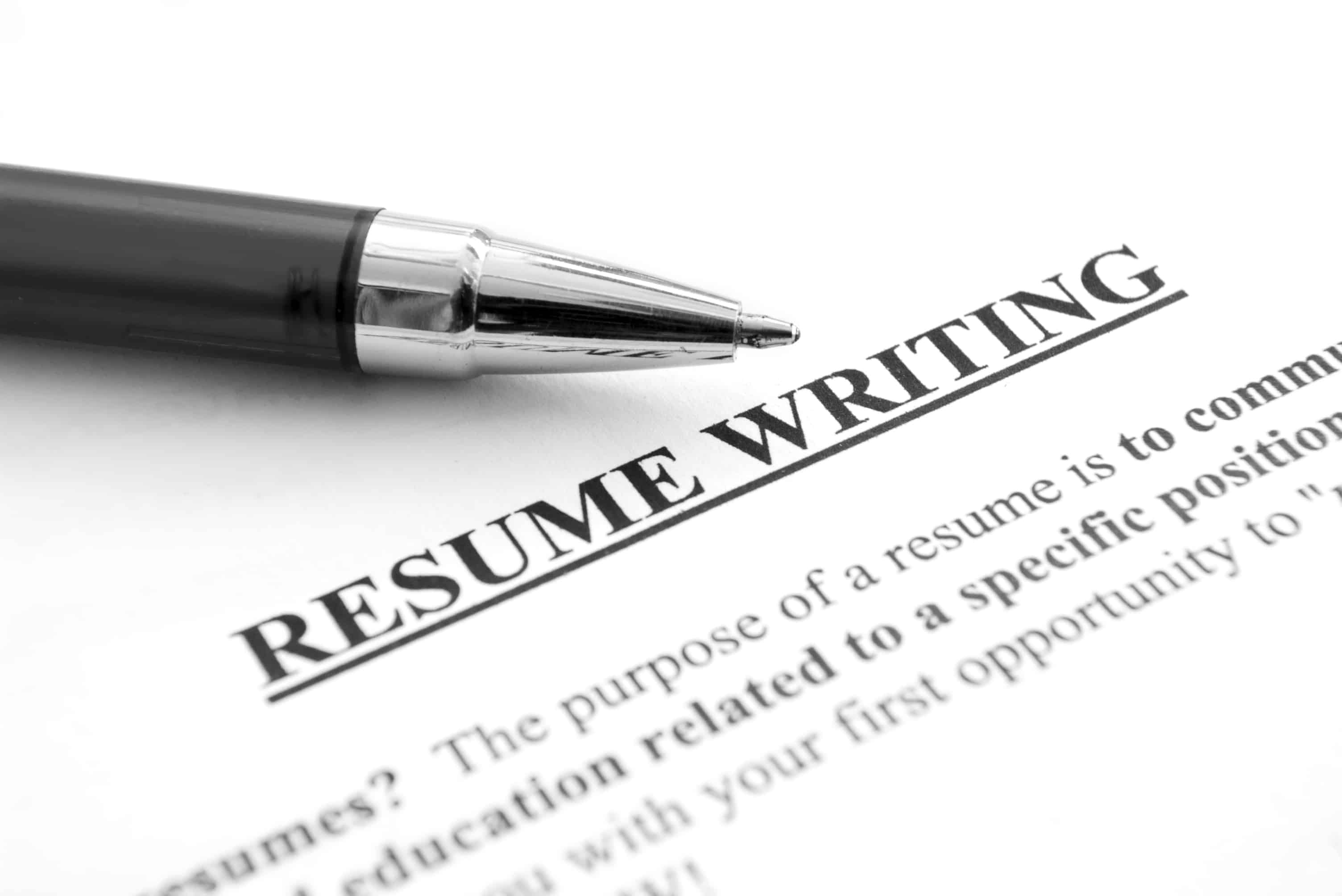 Resume writing services toronto area