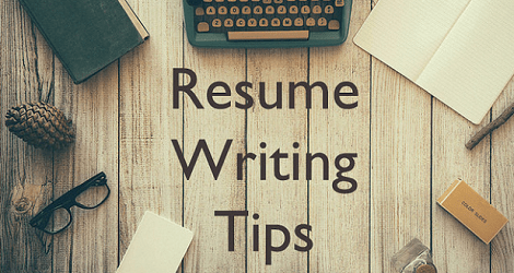 resume writing tips webinar